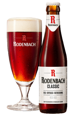 Rodenbach Classic fles + glas
